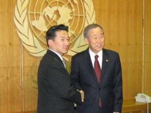 潘基文・国連事務総長と