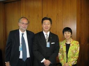 弓削昭子・UNDP管理局長(総裁代行)と