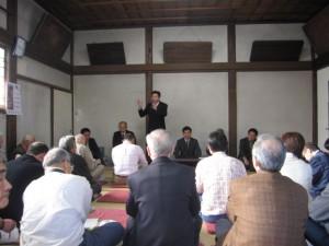 3区総支部主催のタウンミーティングに参加