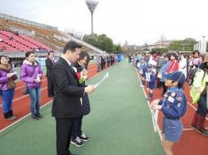 20130303第30回視覚障害者京都マラソン大会