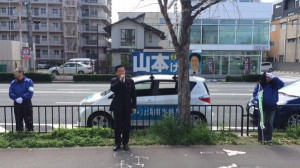 20150408【京都市南区】山本けい候補(市会) 街頭