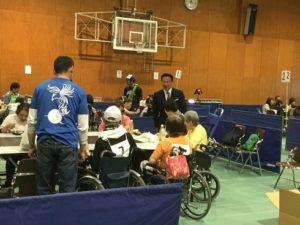 京都障害者施設卓球バレー大会兼全国交流大会