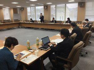 立憲民主党京都府連合議員団と京都弁護士会との意見交換会