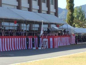 桂駐屯地創立65周年記念行事