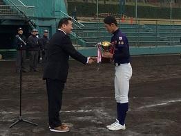 「京都少年硬式野球三年生大会決勝戦」