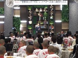 京都東山ボーイズ/レッドベアーズ第13期生卒団式