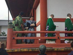 「六波羅蜜寺 節分会追儺式・福豆撒き」